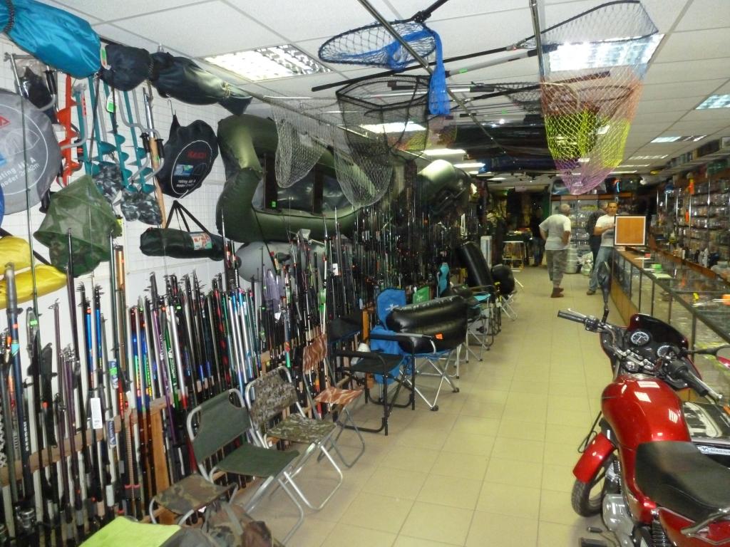 магазины охотник рыболов в пскове на