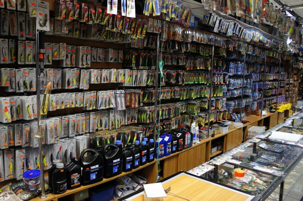 рыболовный магазин на рижской